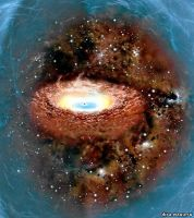 basik.ru - Обзор интернет - Самая большая черная дыра - фотография 1.